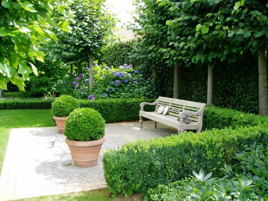 Tuinontwerp tuincentrum de molen for Moderne afsluiting tuin